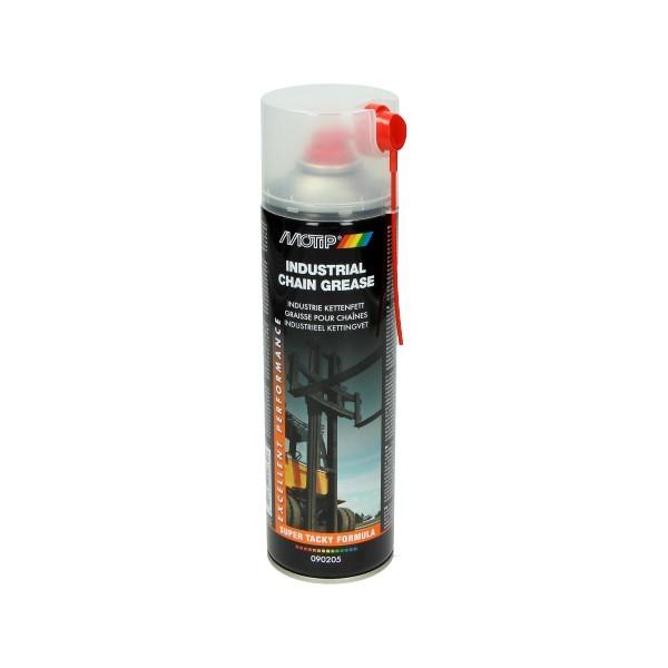 smeermiddel kettingspray 500mL spuitbus motip 090205