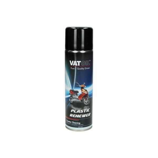 onderhoudsmiddel plastic wax (mat) 500mL spuitbus vatoil