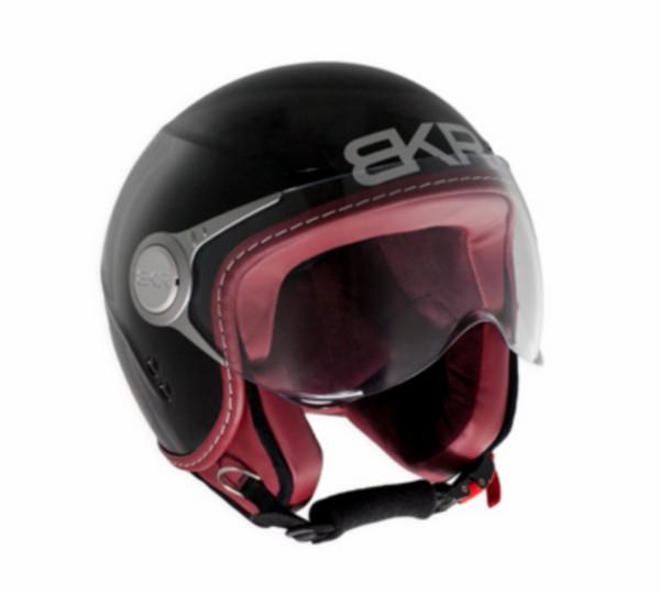 helm jet L 59/60 zwart mat bkr