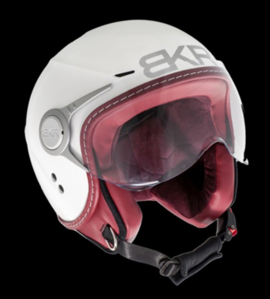helm jet XL 61/62 wit bkr