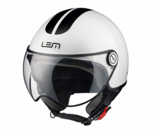 helm XS 53/54 wit lem go fast glossy roger