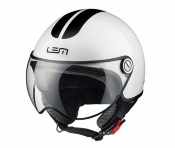 helm XL 59 wit lem go fast glossy roger