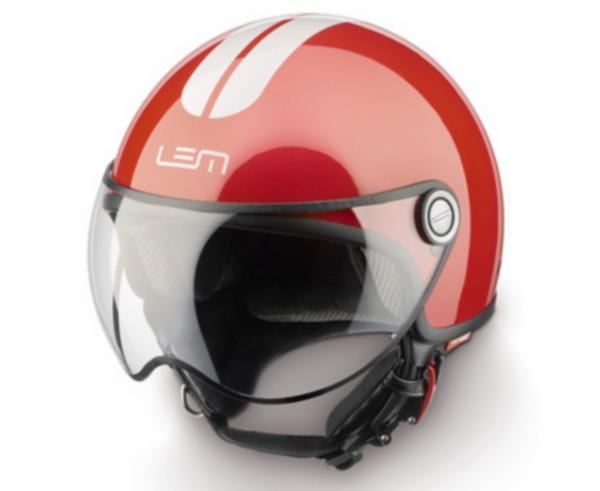 helm L 58 rood/wit lem go fast roger