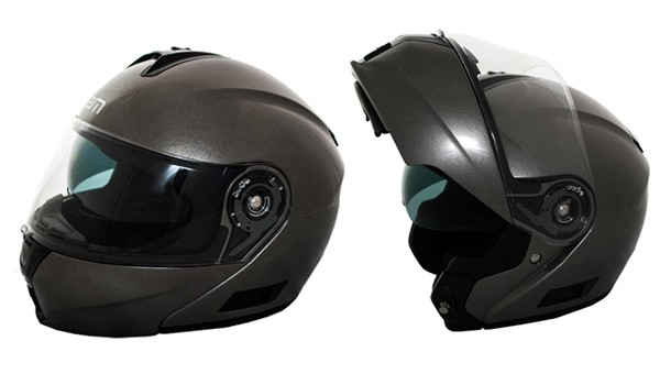 helm systeem XL 60/61 antraciet metallic lem openit