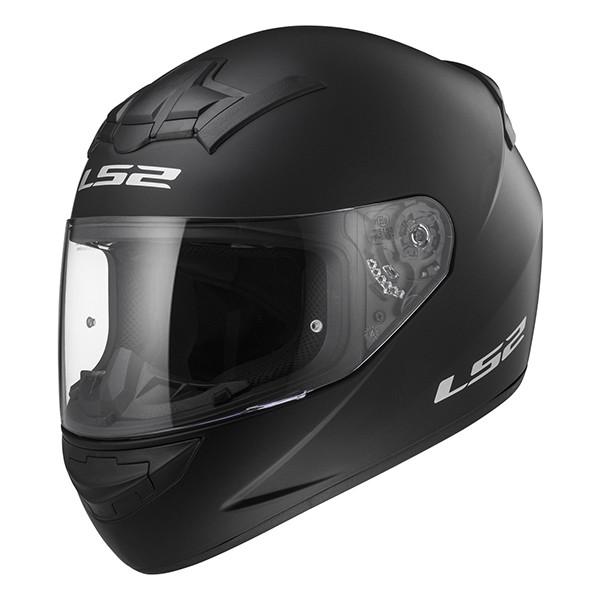 helm integraal rookie single mono FF352 XS 53/54 mat zwart LS2