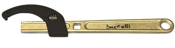 gereedschap balhoofdmoersleutel verstelbaar 25-70mm buzzetti 5415