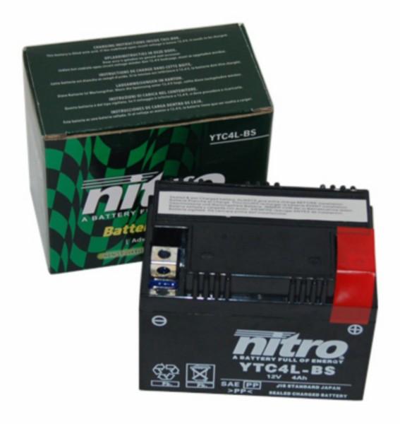 accu ytc4l-bs gel 4amp nitro