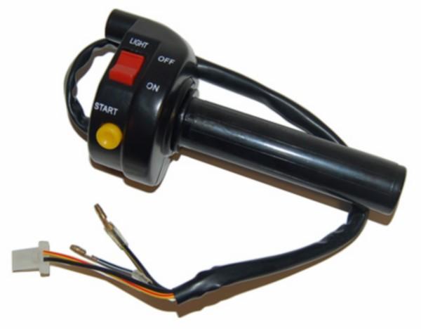 gashandel + stuurschakelaar scooter DMP