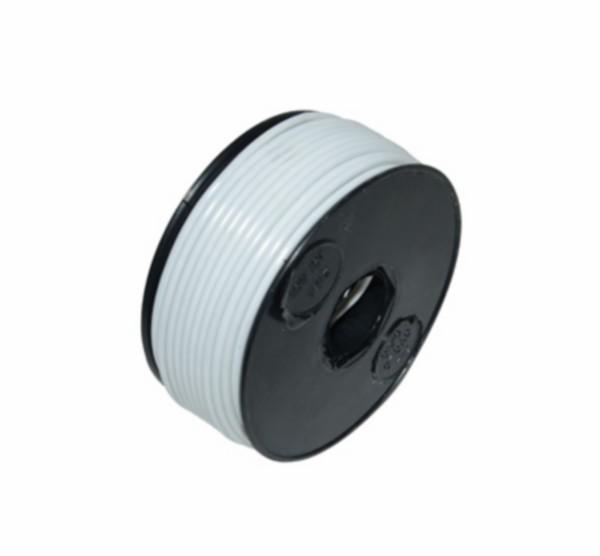 electrisch draad 25 meter wit per rol