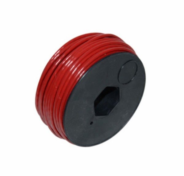 electrisch draad 30m rood per rol