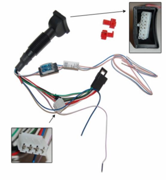 alarmkabel E-lux E1 lx4t4v/vespa s piag orig 602691m005