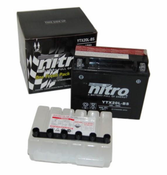 accu ytx20l-bs onderhoudsvrij 18amp nitro