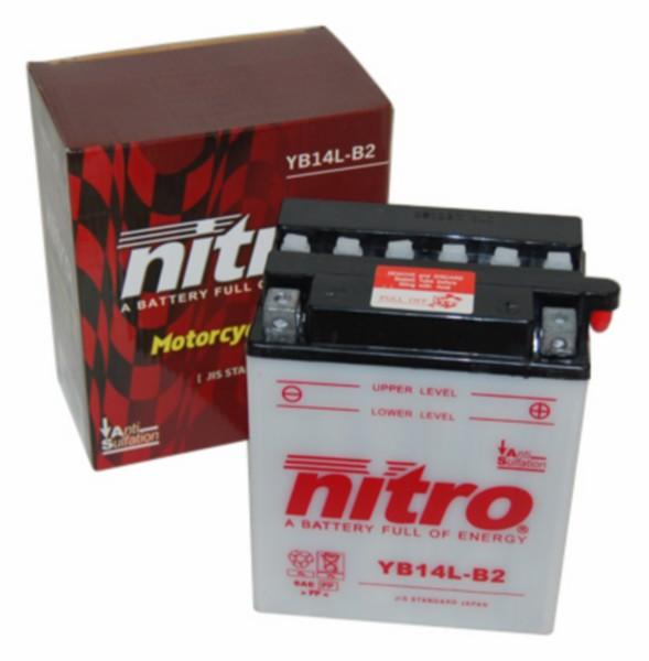 accu yb14l-b2 14amp nitro