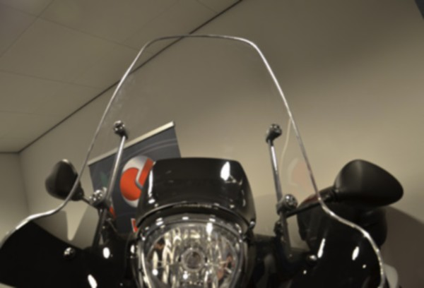 sierstrip plaatwerkset windscherm ook kreidler 2m chroom DMP