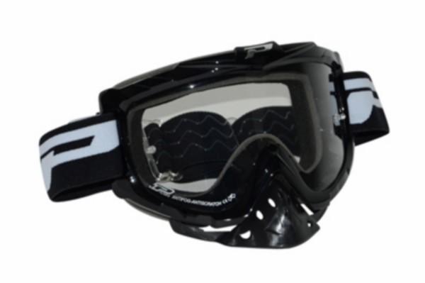 kleding crossbril anti-vocht/kras zwart progrip
