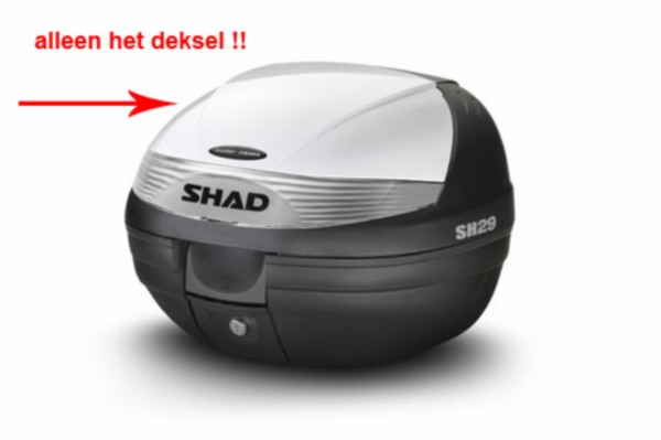 deksel topkoffer wit shad sh29