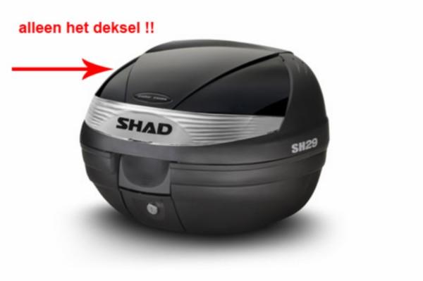 deksel topkoffer zwart shad sh29