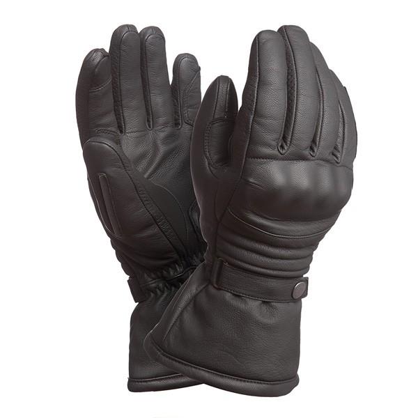 kleding handschoenset leer M zwart tucano 9991m aviatore