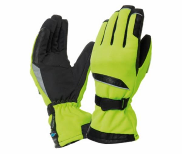 kleding handschoenen set S geel fluor tucano flaming