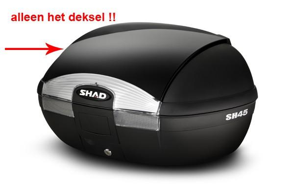 deksel topkoffer zwart shad sh45