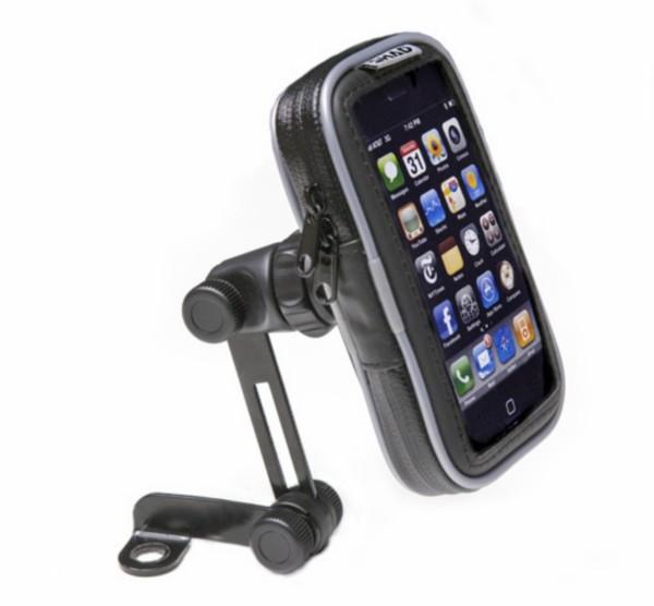 houder iphone 4.3 inch waterdicht spiegelbevestiging shad