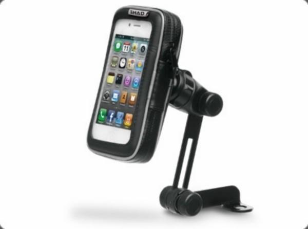 houder iphone 5.5 inch waterdicht spiegelbevestiging shad