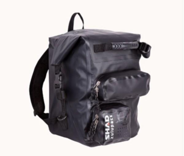 rugzak voor o.a. laptop waterdicht 30L zwart shad sw28