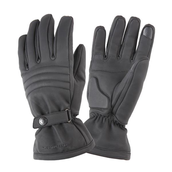 kleding handschoenset leer M zwart tucano rockers 9946u