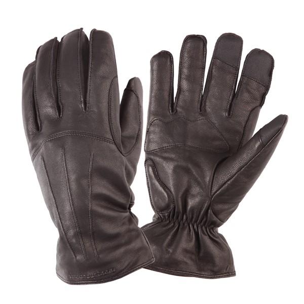 kleding handschoenset leer M bruin tucano softy icon 951im OP=OP