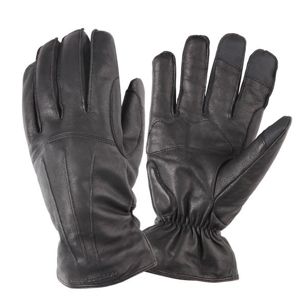 kleding handschoenset leer M zwart tucano softy icon 951im