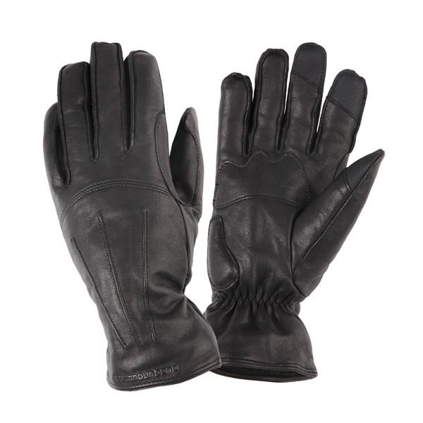 kleding handschoenset leer M zwart tucano softy icon lady 952iw