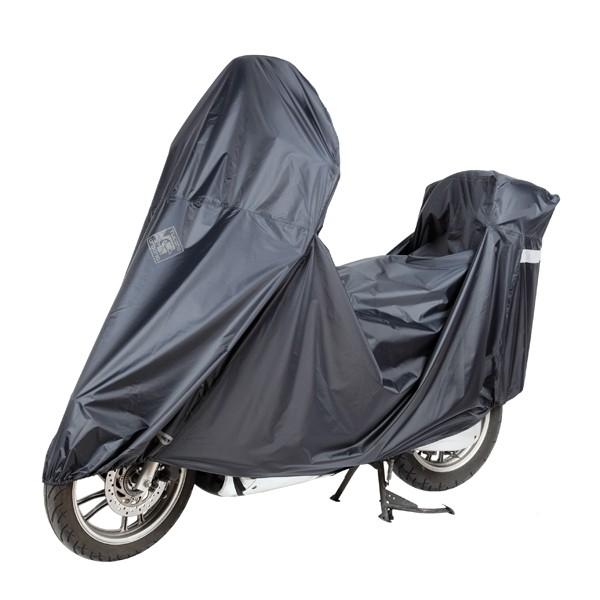 beschermhoes groot maxi scooter light dink/mp3 zwart tucano 2200