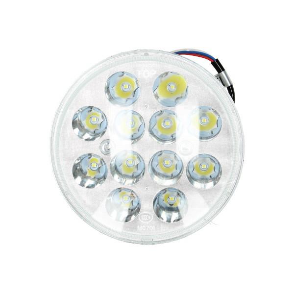 koplampunit 12v universeel led (gelijkspanning) 140mm DMP