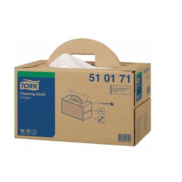 poetsdoek polypropyleen nieuw voor lak/chroom/windscherm 300 vellen wit katrin