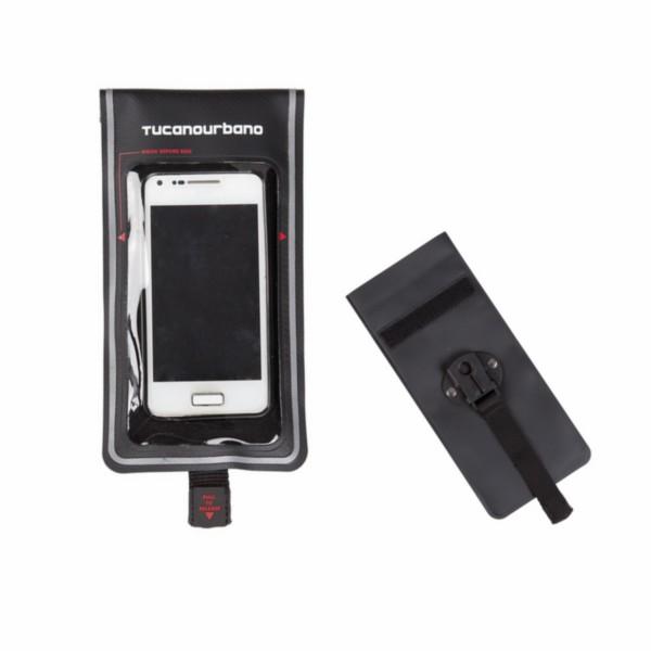 houder telefoonhoes waterdicht voor thermoscud zwart tucano sku 468