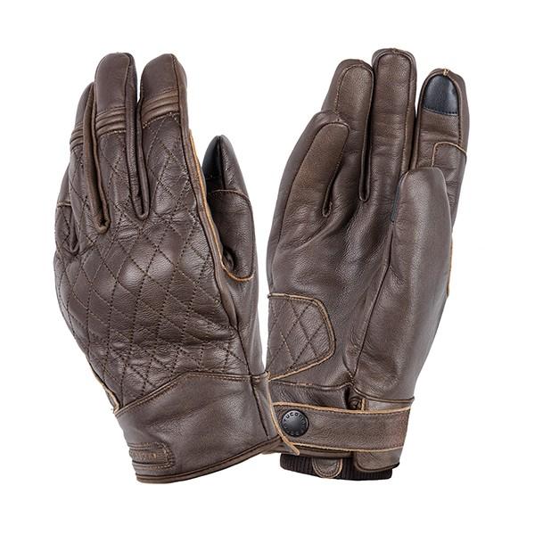 kleding handschoenset leer L bruin tucano steve 9957hm