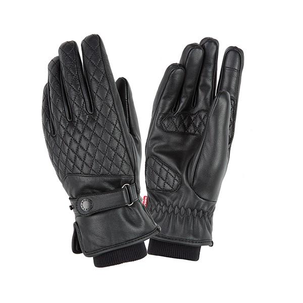 kleding handschoenset leer dames M zwart tucano silvya 9958hw