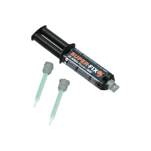 lijm 2-componenten MMA 25ml super-fix 1608002bl