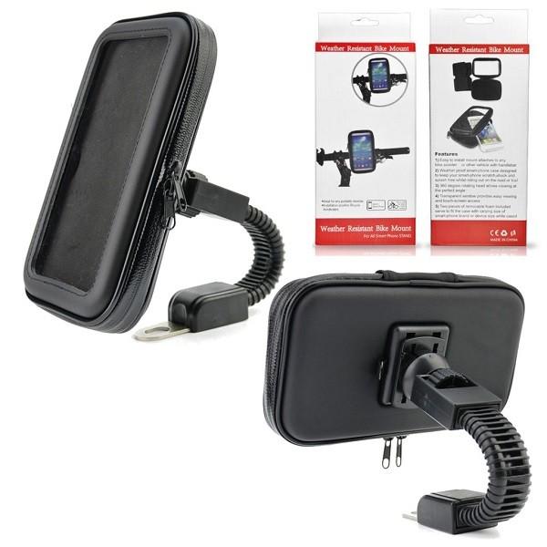 houder telefoon /GPS waterdicht spiegelbevestiging jg05