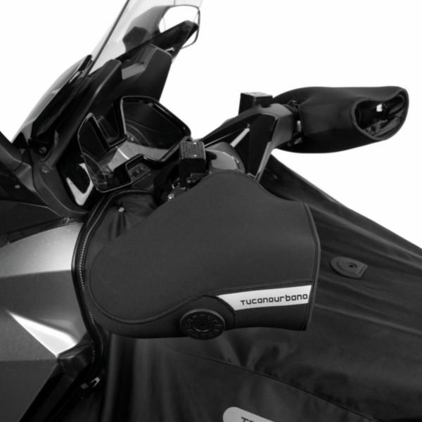 handmofset motor/motorscooters zwart tucano r369x