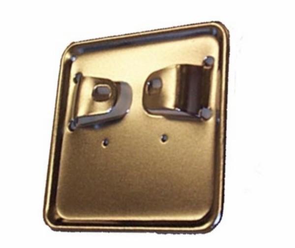 houder verzekeringsplaat klein oldtimer univ chroom
