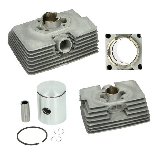 cilinder + zuiger supertherm alu nicasil 50cc zundapp 39mm