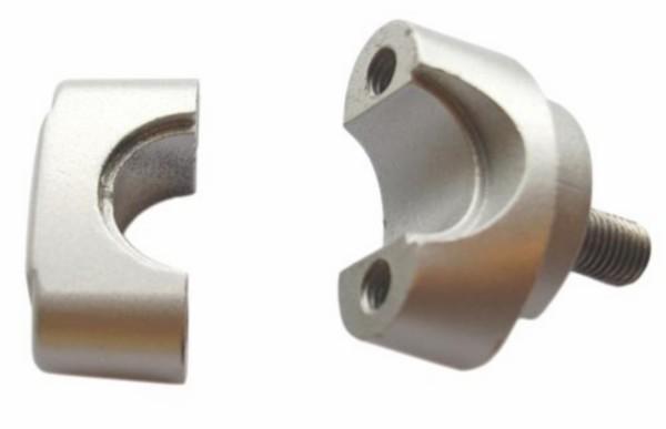 stuurklem fs1 zilver boven+onder 2-delig