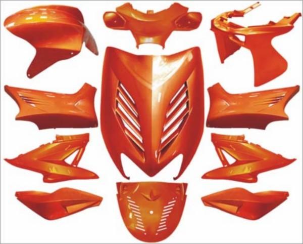 plaatwerkset kappenset special aerox amber metallic DMP 11 delig