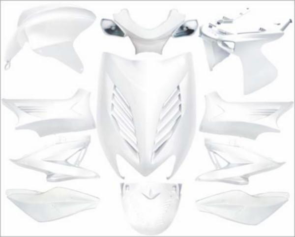 plaatwerkset kappenset special Yamaha aerox wit DMP 11 delig