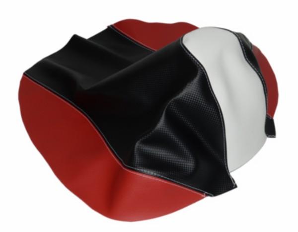 buddydek Yamaha aerox 2013 zwart/rood/wit bekleding