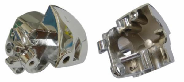 houder stuurschakelaar Yamaha aerox chroom rechts DMP