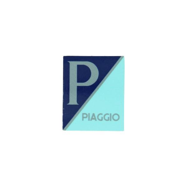 sticker logo voorscherm lx/piag/primav/sprin blauw/grijs