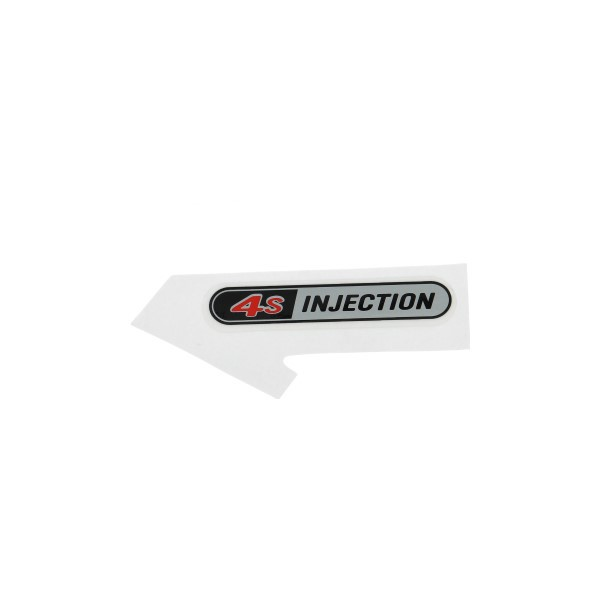 sticker [4s injection] sport zip 4t [euro4] piag orig 2h002189