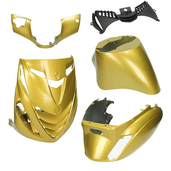plaatwerkset model SP (porsch gold) zip2000 goud DMP 5-delig